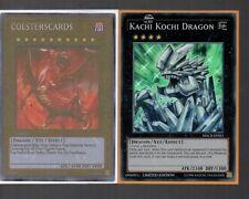 Yugioh Card - Super Rare Holo - Kachi Kochi Dragon MACR-ENSE1 Limited Edition