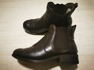 Ugg Bonham Boots size 5.5 (38) Brown Leather Winter Autumn