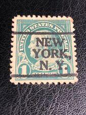 More details for benjamin franklin us postage 1 cent stamp 1902 green well centered used lightly