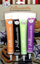 Halloween Candy Writers Decorating Pens 4 pc set from CK #3003 - NEW