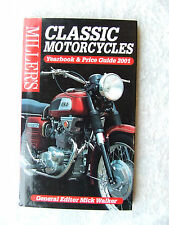 MILLER'S CLASSIC MOTORCYCLES YEARBOOK & PRICE GUIDE 2001 MICK WALKER HARDCOVER