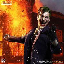 "One: 12 Collective DC Comics THE JOKER 6"" Action Figure Mezco 1/12 IN STOCK"