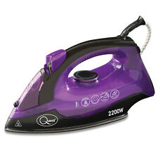 Quest Handheld Professional Steam Iron Non Stick Soleplate Self Cleaning 2200W