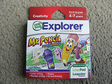 Brand New LeapFrog Explorer Mr. Pencil Saves Doodleburg Game