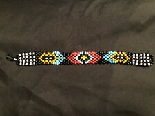 Native American Inspired Multi-Colored, Beaded Bff Friendship Bracelet