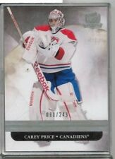 11/12 Upper Deck The Cup Carey Price Base #'ed 080/249