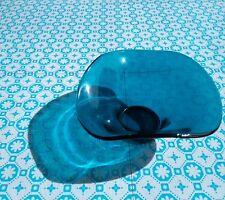 Blue/White Vinyl Floor Tiles - RDV Blue - £19.99 per M2. Retro funky pattern