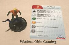Heroclix Aquaman #029 Used Dc 75th Anniversary Single Figure