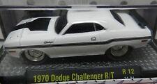 1970 DODGE BOYS SCAT PACK CHALLENGER DRAG GROUND POUNDER RT WHITE 14 04 MOPAR M2