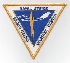 NAS FALLON NV UNITED STATES NAVAL STRIKE WARFARE CENTER MILITARY PATCH - NSAWC