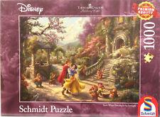 Puzzle 1000 Thomas Kinkade, Disney, Schneewittchen-Tanz Schmidt 59625, NEU