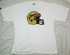 Vintage Nike T Shirt White Tag Florida State Seminoles 2XL XXL White NCAA 90's