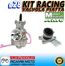 CARBURATORE RACING POLINI PWK ø28 + COLLETTORE YAMAHA DT 50 R / SM MINARELLI AM6