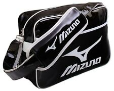 Mizuno Enamel Shoulder Bag Small 16DA810-90 Brand New Black/White