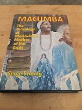 Macumba: Teachings of Maria-José Mother of Gods by Serge Bramly 1977 HCDJ