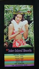 More details for collection 1960s  hawaii guides tourist attractions maps tours coach (48 items)