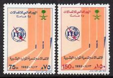 SAUDI ARABIA MNH 1993 SG1821-22 World Telecommunications Day