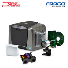 Fargo DTC1250e Complete Single Sided ID System with Camera For MAC & PC
