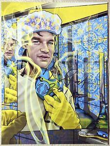 Nicholas Nick Sand Signed Rosenfeld Blotter Art Rafti