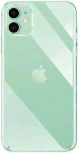 iPhone 12 Pro Max Case Clear Silicone TPU Rubber Back Cover Ultra Thin 6.7 inch