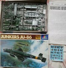 Junkers Ju-86, Italeri 1:72, WW2, Guerra Civil Española, SCW