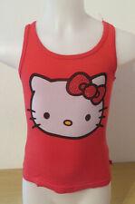 H&M Hello Kitty ° hübsches Top Gr. 110 rot Mädchen Sommermode Kleidung T-Shirt