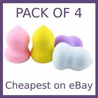 Make Up Sponge 4 Pack Makeup Beauty Foundation Blender Buffer Puff Set