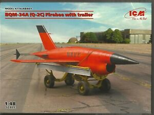 ICM BQM-34A (Q-2C) Firebee with Trailer in 1/48 401 ST