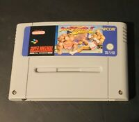 SNES Super Nintendo STREET FIGHTER II TURBO Game Cartridge Excellent Cond.