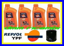 Kit Tagliando HONDA HORNET 600 98>99 Filtro Olio REPSOL RACING CB 600F 1998 1999