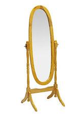 Cheval Mirror Antique Pine Adjustable Oval