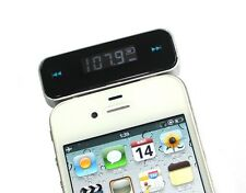 Wireless 3.5mm In car Fm Transmitter for iPhone5 4S 4 iPod Touch Galaxy S3 4 MP3