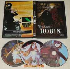Witch Hunter Robin Complete 26 TV Episodes Anime DVD Set English Dubbing