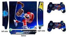 Mario 906 Skin Sticker for PS3 PlayStation 3 Slim and 2 controller skins