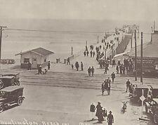 "HUNTINGTON BEACH Surf City MAIN ST & PCH PIER Early Photo Print 946 11"" x 14"""
