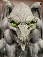 Aged Demon Halloween Haunted Gargoyle Prop Decoration Castle Decor Distortions