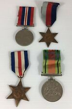 Boxed WW2 Air Force Medal Group S.A.Clayton Cambridge