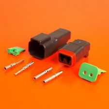 Deutsch DT Series 2 Pin Way Connector Male & Female DT04-2P-CE02 DT06-2S-CE06