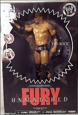 The Rock Wwe Unmatched Fury Action Figure Jakks Nib Platinum Edition Series 5