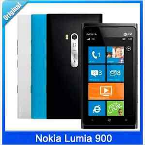 "Original Nokia Lumia 900 3G Wifi 8.0MP Windows 4.3"" Unlocked Mobile Phone"