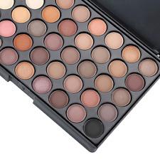 Paleta de sombras maquillaje crema Ojos Brillo Set 40 Color Mate Cosmético