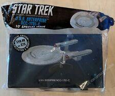 "Star Trek USS Enterprise NCC-1701-C 10"" Special Issue XL w/ Magazine Eaglemoss"