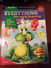 Preschool Homeschool Workbook Everything For Early Learning 320 Pages