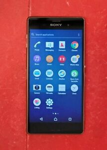 Sony Xperia Z3 D6603 LTE GSM AT&T Smartphone Cell Phone