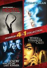 DVD Hostel Hollow Man I Know What You Did Last Summer When a Stranger Calls NEW