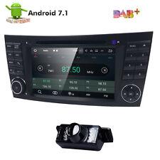 Quad Core Android 7.1.1 Car DVD Radio GPS Mercedes Benz E G Class W211 W463 W219