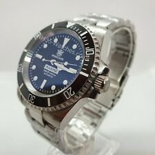 STEELDIVE SD1954 AUTOMATIC DIVER WATCH, NH35, SUBMARINER HOMAGE *EXTRA STRAP*