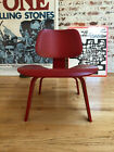 Eames LCW | Plywood Side Chair | RED | 2004 | ** No Reserve **