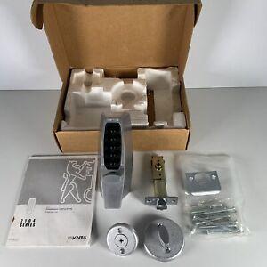 Kaba Simplex Unican Ilco 7104 Series Push Button Lock in Satin Chrome Box Manual