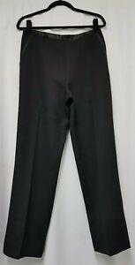 Womens Darmart Black Trousers Size 14 W32 L29 Womens Straight trousers - D5